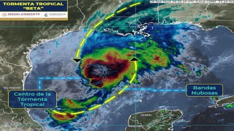 La tormenta tropical 'Beta' causará lluvias en 10 estados