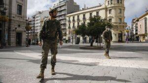 Madrid pide apoyo del ejército para controlar la pandemia