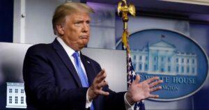 Trump no se compromete a una transición pacífica si pierde las elecciones de noviembre