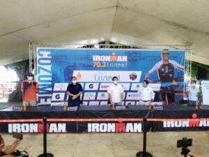 Todo listo para el Ironman 70.3 Cozumel 2020