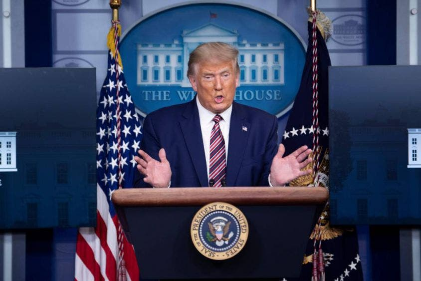 Donald Trump niega informe de sus impuestos que publicó New York Times