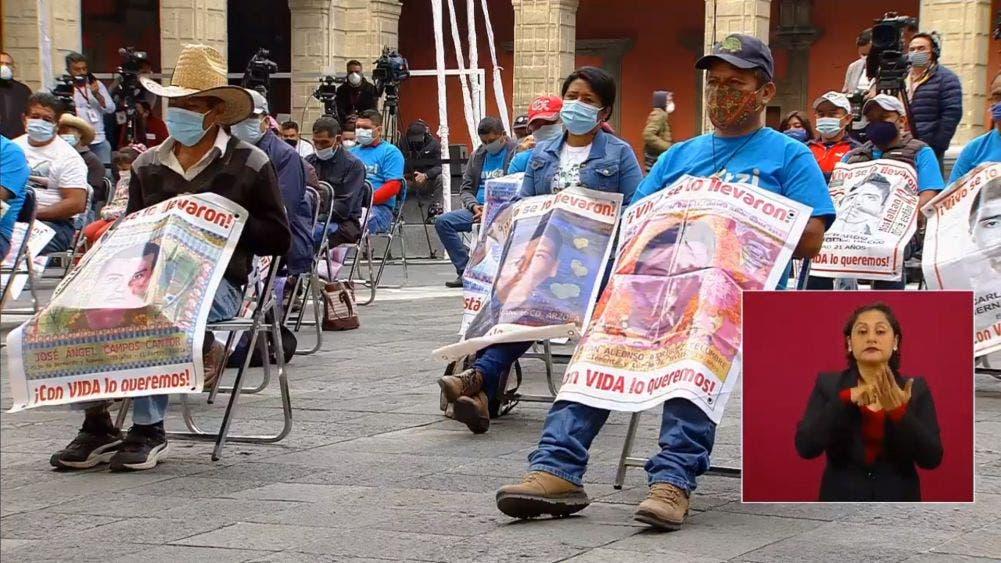 Ofrece AMLO ser testigos protegidos a detenidos por caso Ayotzinapa