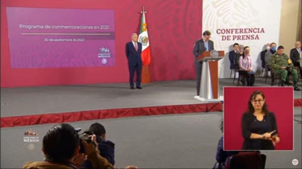 Festejará México 200 años de consumación de la Independencia en 2021