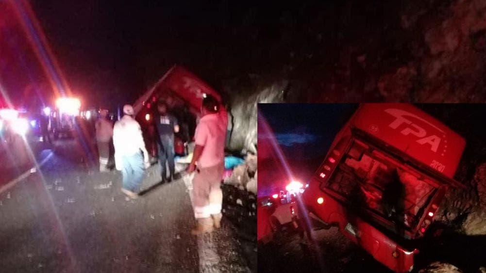 ¡Tragedia en Chiapas! Mueren 13 personas en accidente de autobús; 25 heridos