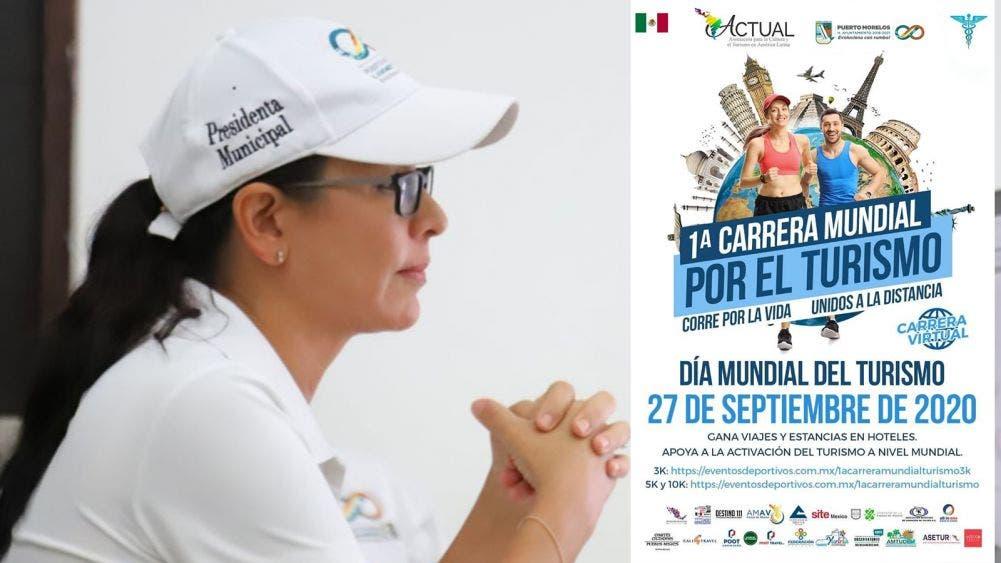 Se suma Puerto Morelos a evento mundial para reactivar el turismo