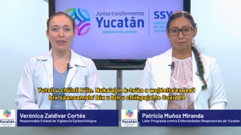 Reportan 126 nuevos casos de coronavirus en Yucatán; 20 fallecidos