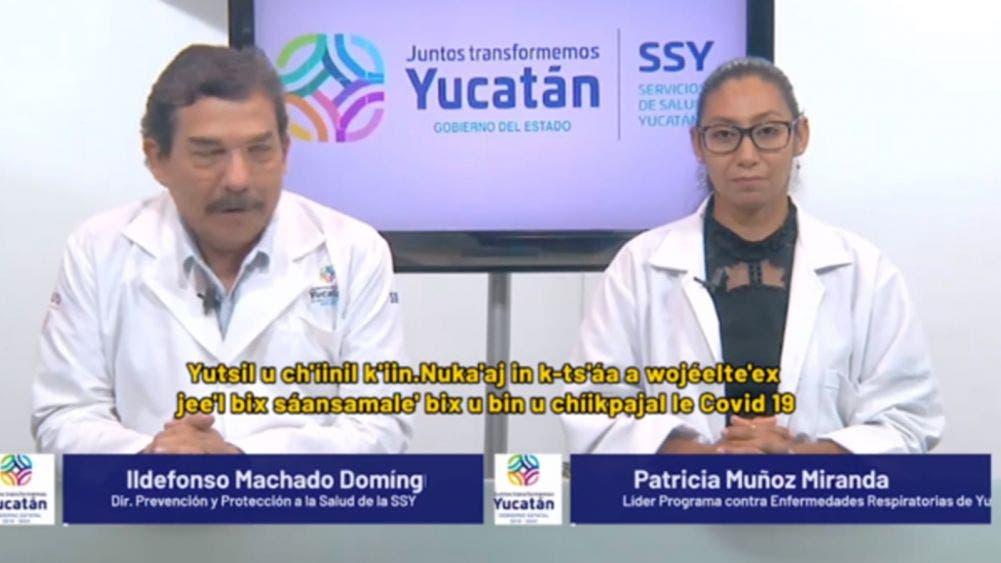 Reportan 189 nuevos casos de coronavirus en Yucatán; 18 muertos