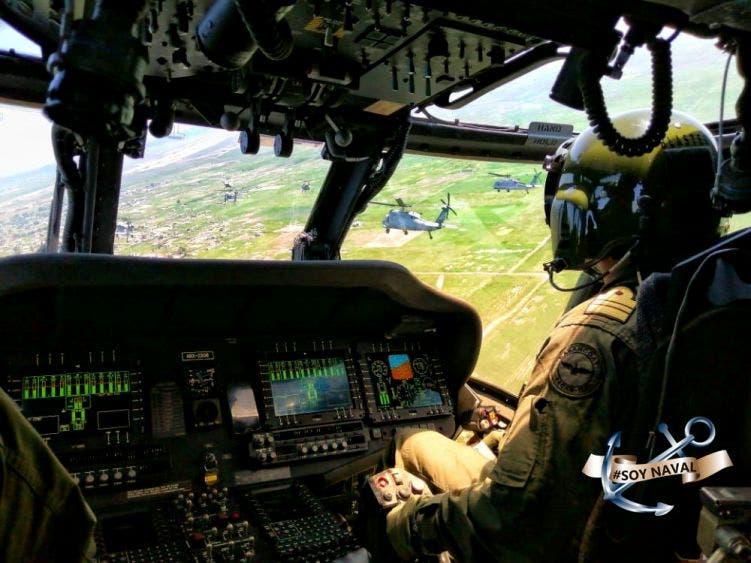 Refuerza la Marina patrullajes aéreos en Zona Sur de Quintana Roo.