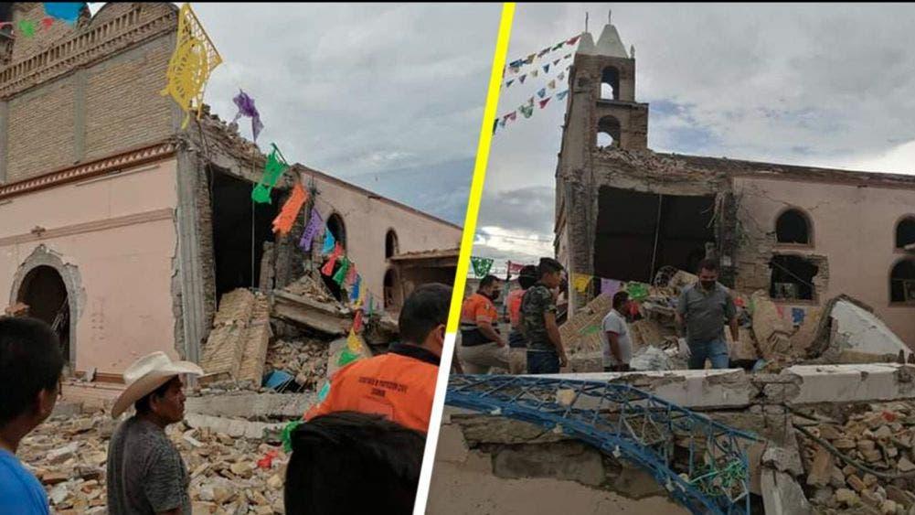 Explota pirotecnia en iglesia durante una boda en Guerrero