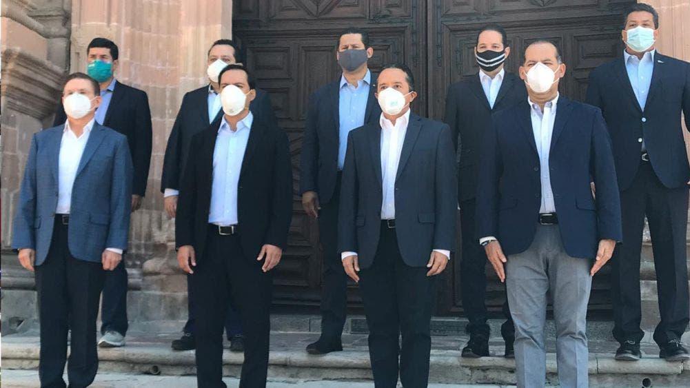 Piden gobernadores panistas reconciliación nacional