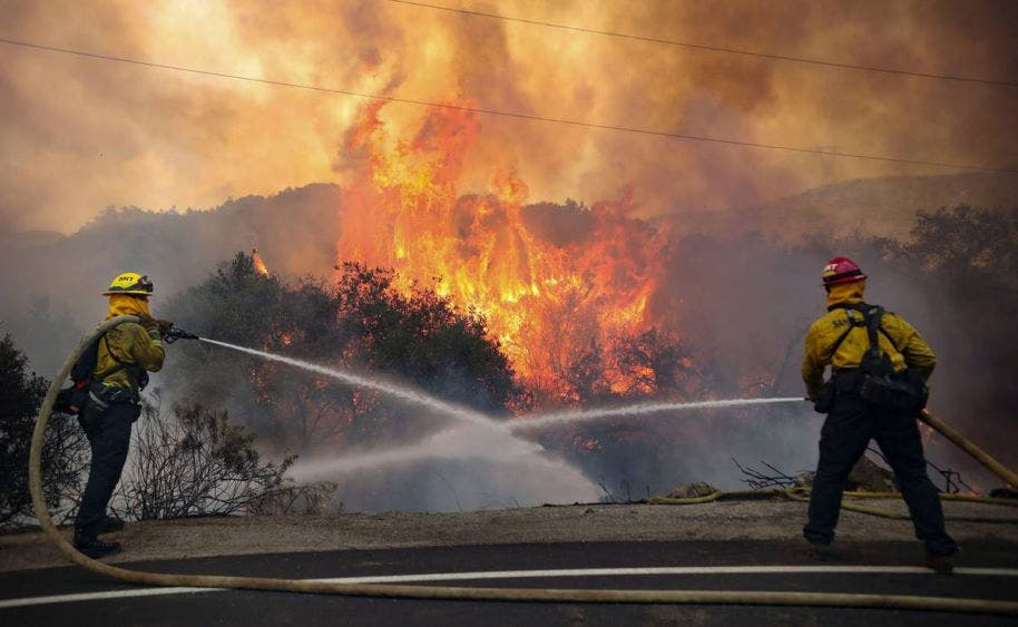Baby shower provocó incendios forestales en California