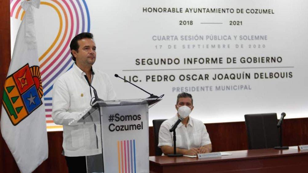 Presenta Pedro Joaquín segundo informe de gobierno