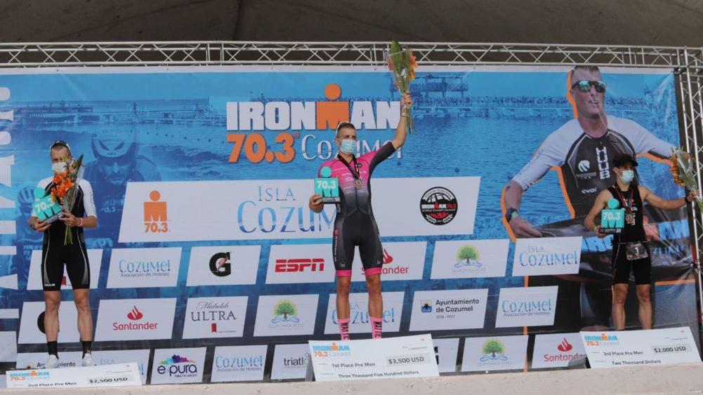 Destacan 9 atletas mexicanos entre los finalistas en Ironman 70.3
