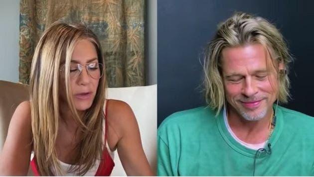 Brad Pitt y Jennifer Aniston se reencuentran en candente situación