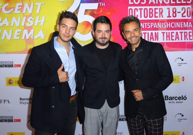 Eugenio separa a Vadhir y José Eduardo Derbez mientras pelean