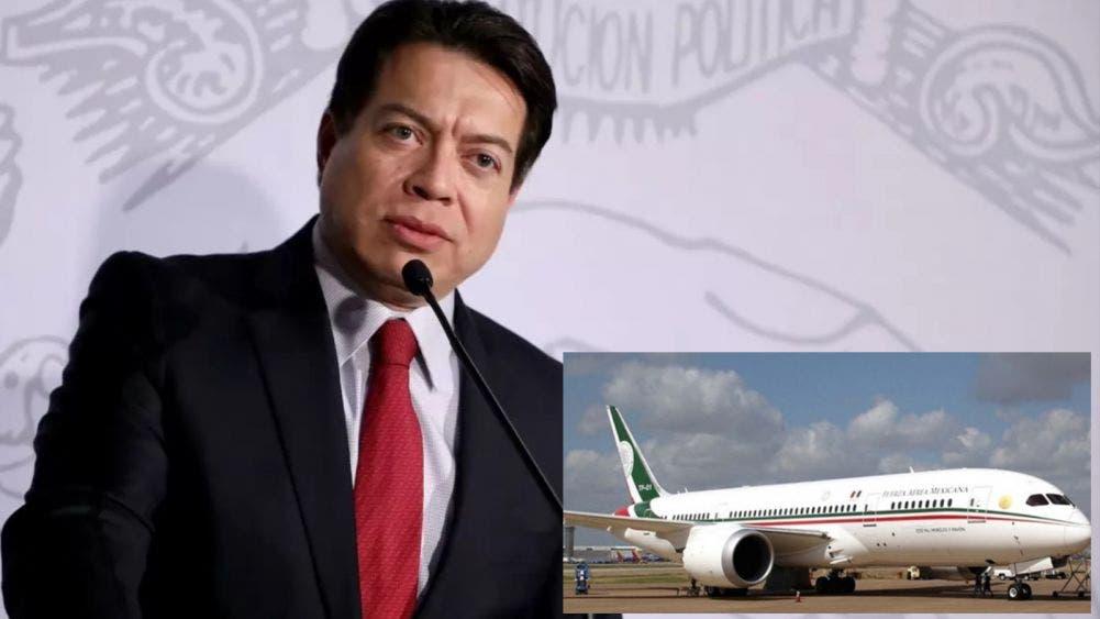 Morena promocionará la venta de boletos para la rifa del avión presidencial: Mario Delgado
