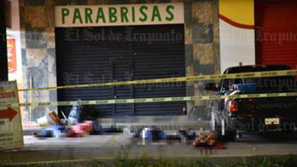 Masacran a cinco personas mientras comían tacos
