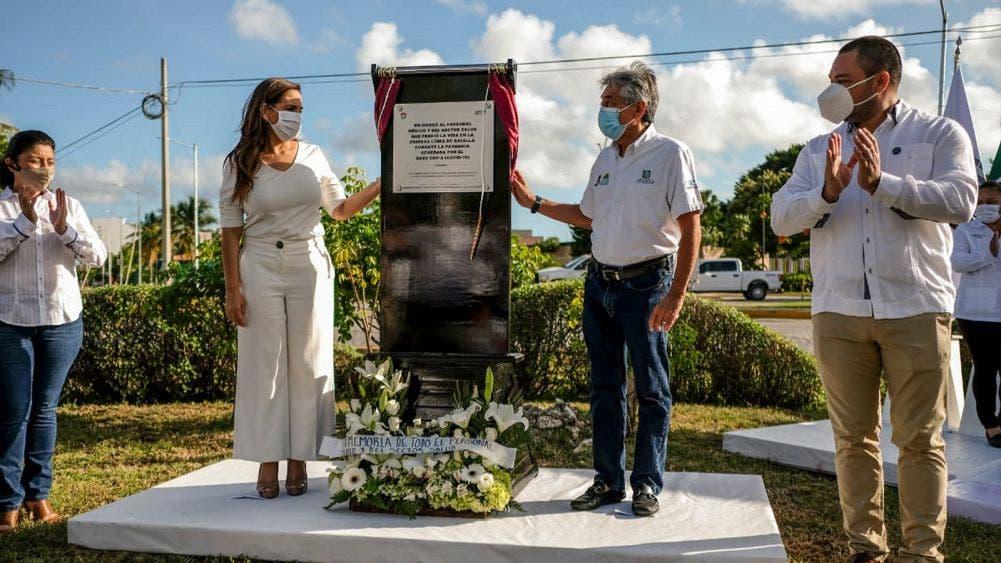 Reconoce Mara heroísmo del sector salud ante pandemia