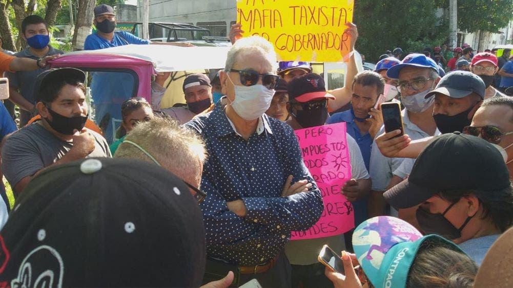 Tras protesta, mototaxistas firman con autoridades pacto de no agresión