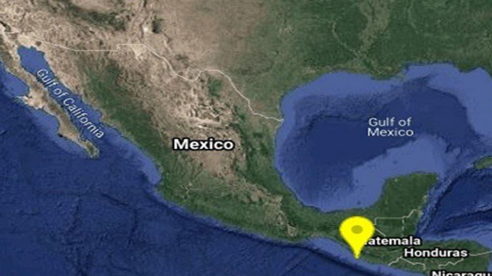 Sacude a Chiapas un sismo de magnitud 5.1