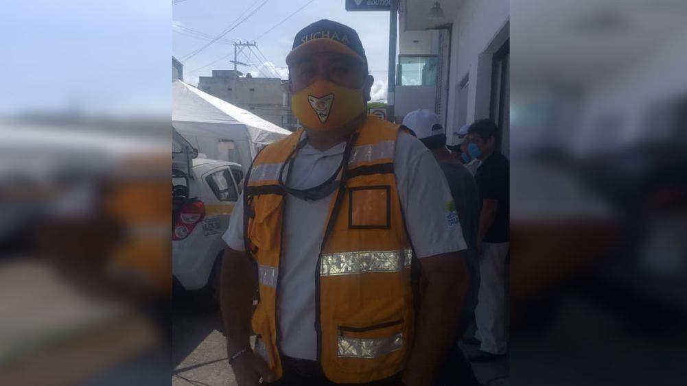 Disminuyen contagios por covid entre taxistas de Chetumal