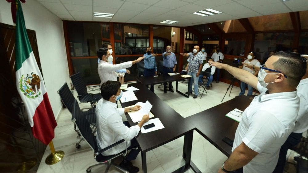 Rinde protesta Comité de Adquisiciones del Poder Legislativo