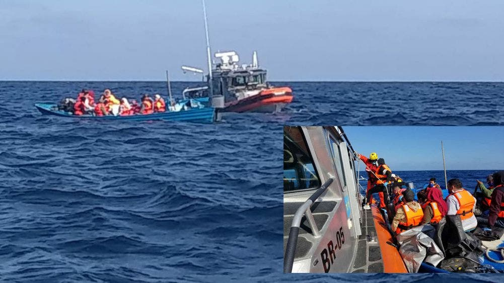 Sanos y salvos tripulantes rescatados en costas de Ensenadas