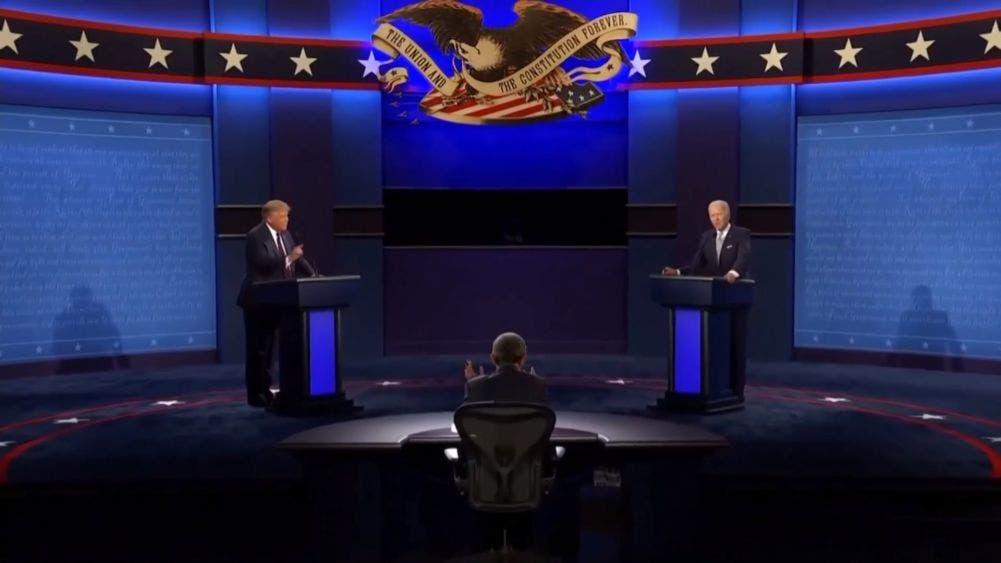 Cruce de acusaciones e insultos en primer debate entre Trump-Biden