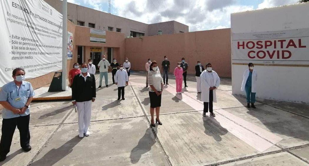 IMSS Quintana Roo continuará con reconversión de hospitales.