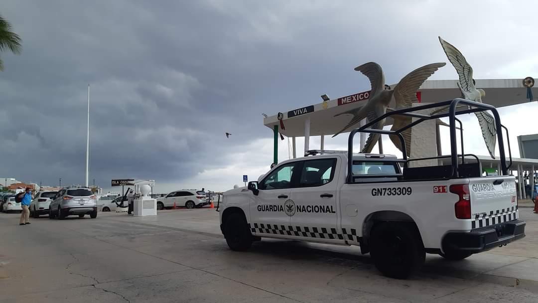 Se estiman lluvias moderadas y tormentas eléctricas para Cozumel.