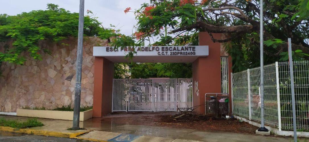 En Cozumel ladrones aprovechan ausencia escolar y atracan escuelas.