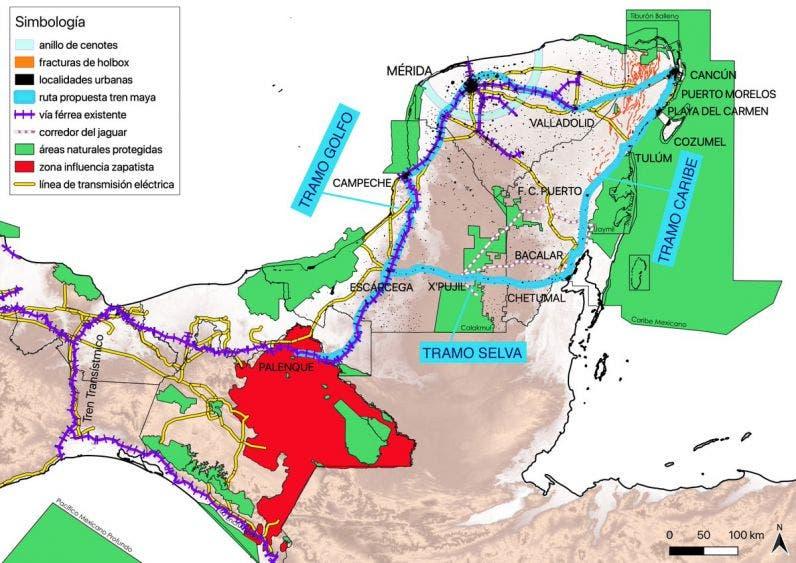 No convence a Fonatur propuesta para el tramo 5 del Tren Maya.