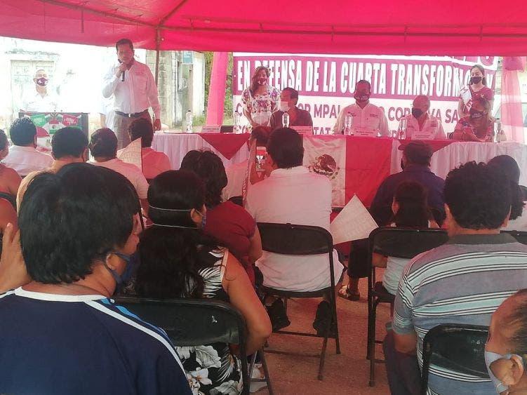 Inaugurarán oficinas de la 4T en Valladolid Nuevo; apoyarán con programas sociales a más familias de la Zona Sur de Quintana Roo.
