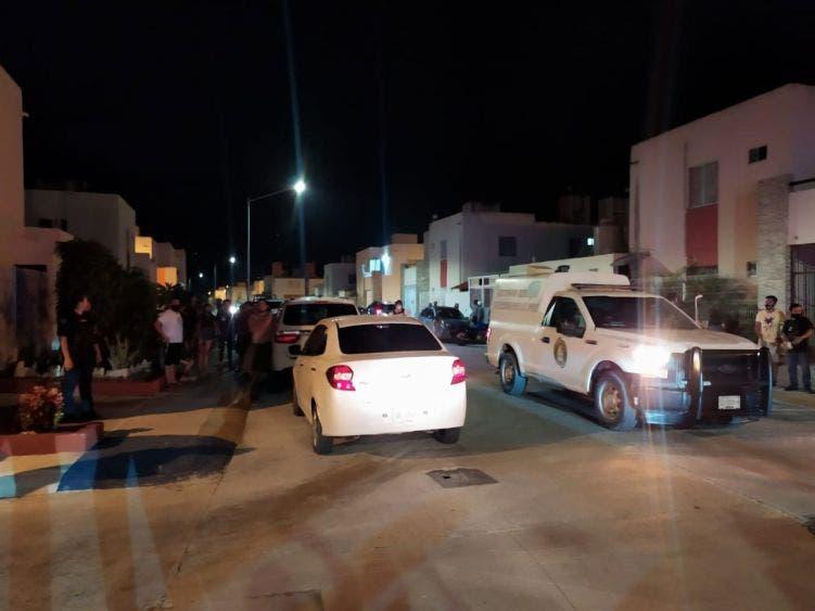 """Balean casa de un elemento de la Policía en Cozumel; el atentado se registró en el fraccionamiento exclusivo """"El Encanto""""."""