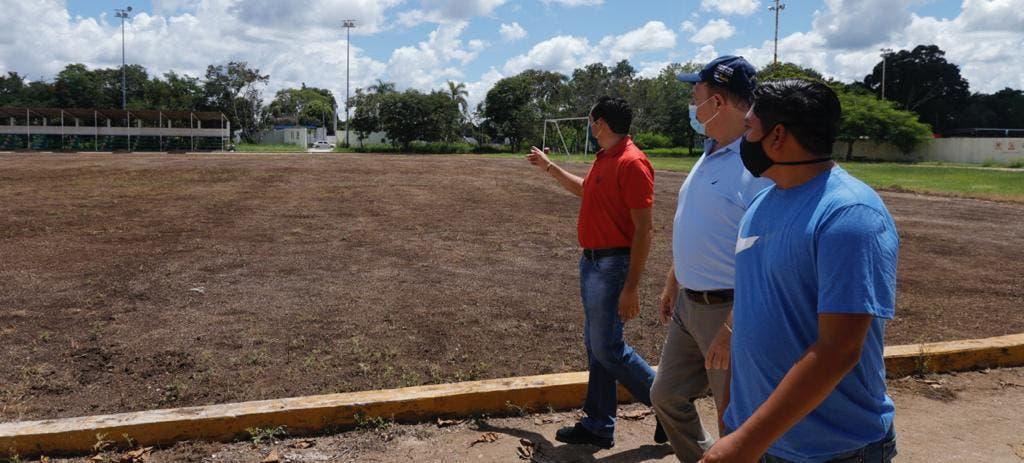 Se reactiva la obra pública en Felipe Carrillo Puerto.