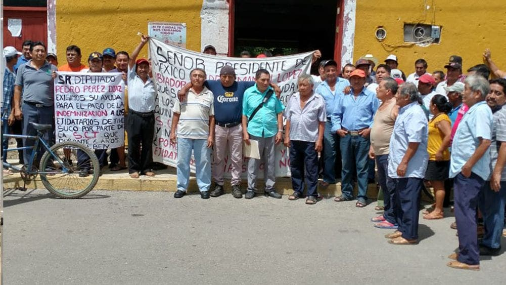 Integran campesinos comité para negociar con la SCT
