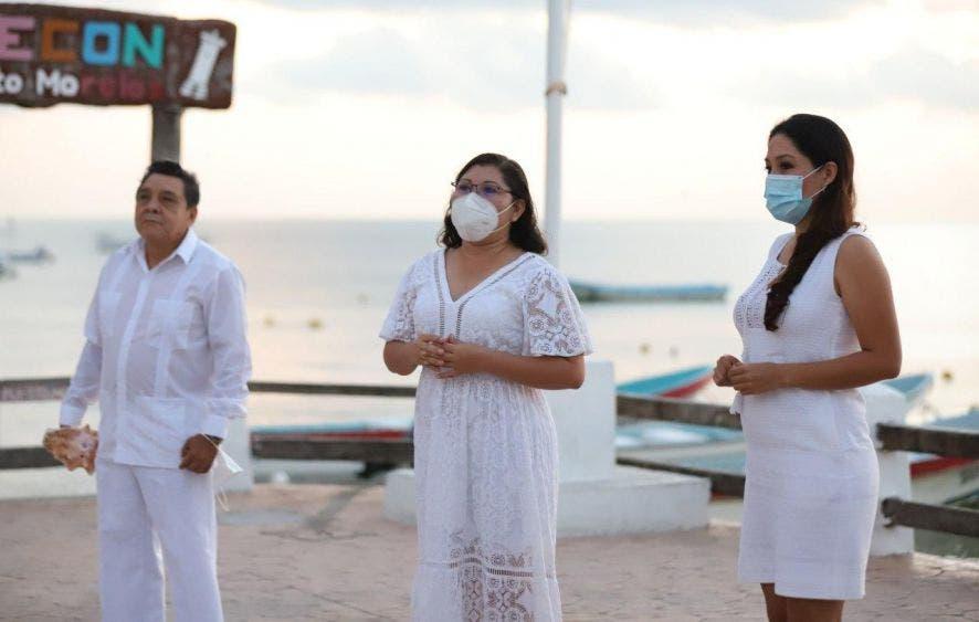 Si nos mantenemos unidos como sociedad podremos salir adelante de la actual emergencia sanitaria por la pandemia de Covid-19, destaca la alcaldesa Laura Fernández Piña