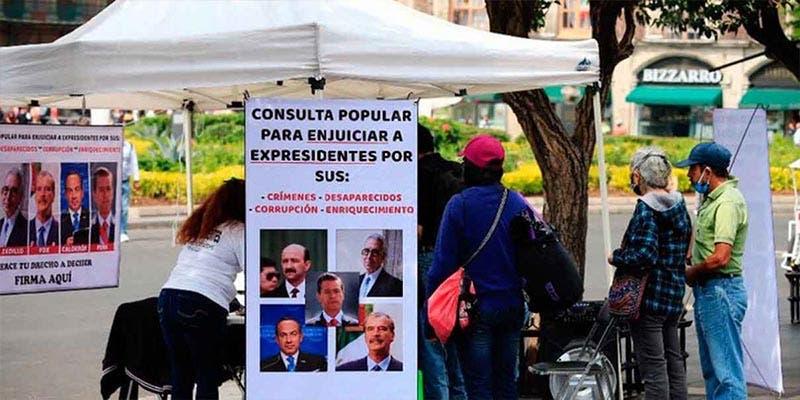 Se reúnen las firmas para la consulta ciudadana contra ex presidentes
