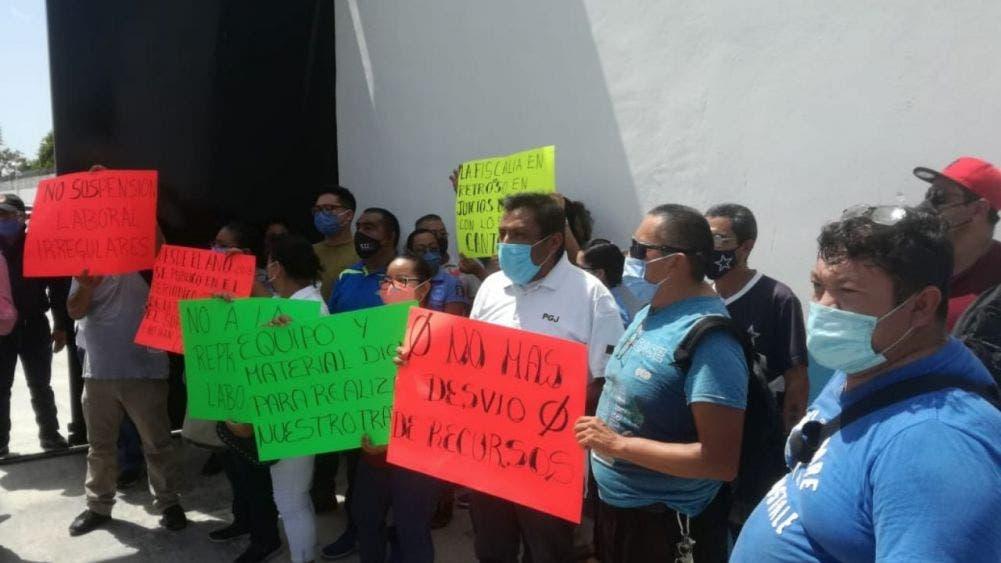 Oscuros intereses en la rebelión de ministeriales en Quintana Roo, tras supuesto movimiento laboral, esconden una serie de irregularidades.