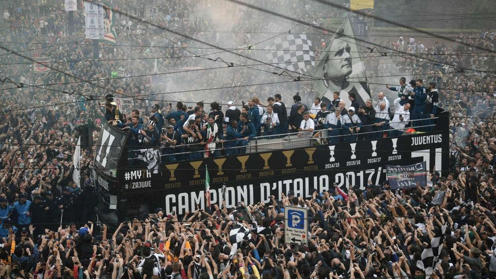 Italia permitirá hasta mil aficionados en eventos deportivos