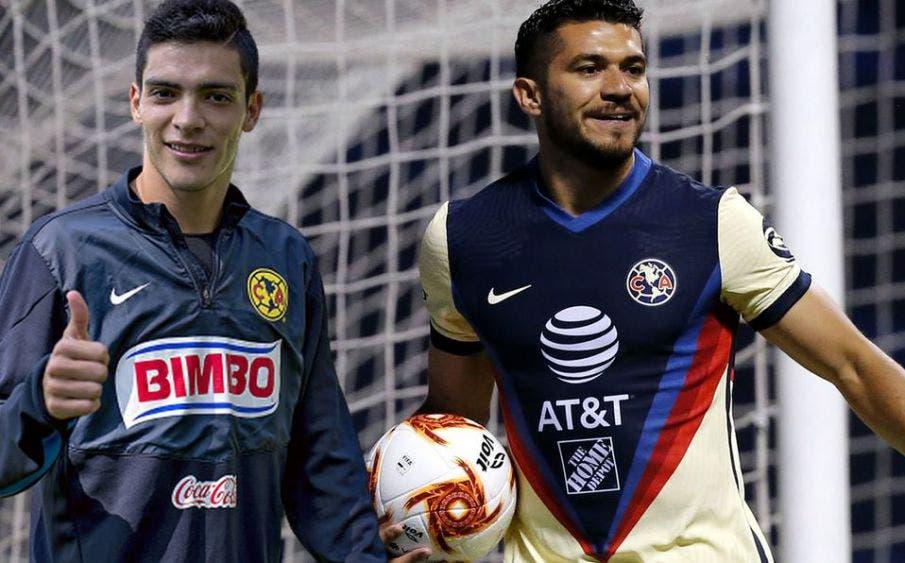 Henry Martín a un gol de empatar a Raúl Jiménez