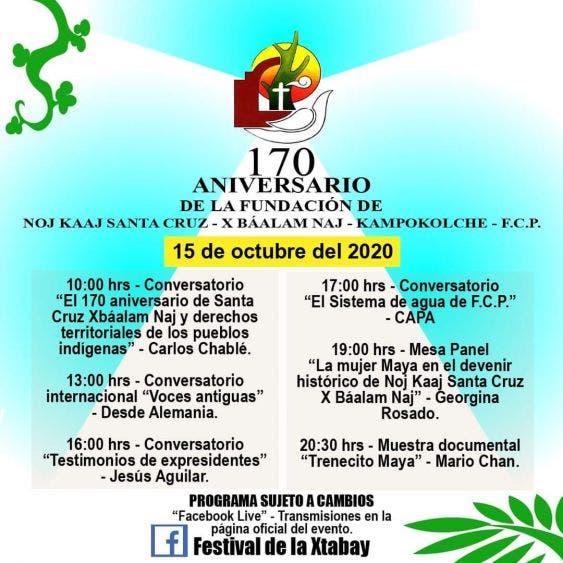 Con foros y conversatorios virtuales se conmemora 170 aniversario de Felipe Carrillo Puerto.