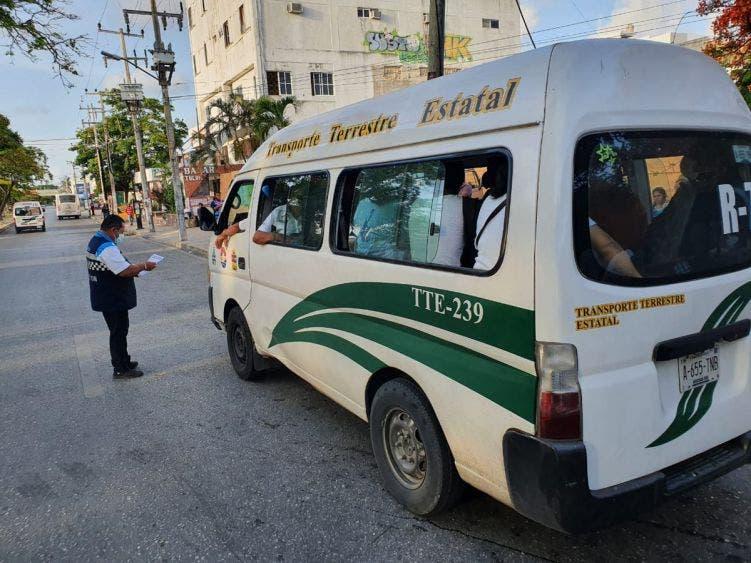 No está autorizado el aumento a las tarifas en transporte en ningún municipio: IMOVEQROO