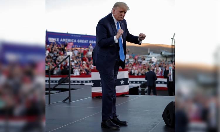 'Salsa-Trump' busca persuadir al voto latino