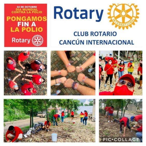Club Rotario celebra el Día Mundial contra la Polio