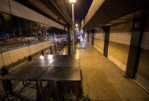 Toque de queda en España deja calles desoladas