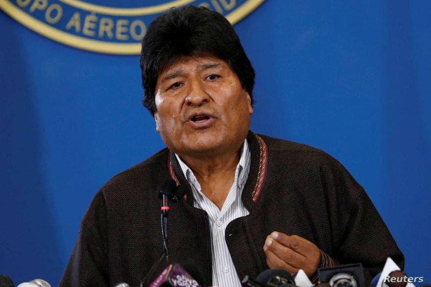 Bolivia retira orden de arresto contra Evo Morales