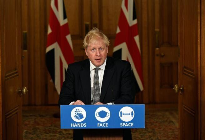 Boris Johnson anuncian nuevo confinamiento en Inglaterra