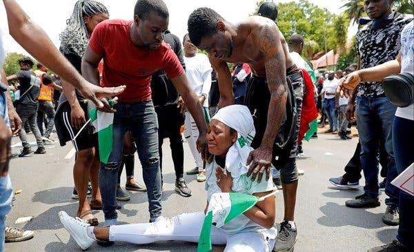 Fuerzas de seguridad abrieron fuego contra manifestantes en Nigeria