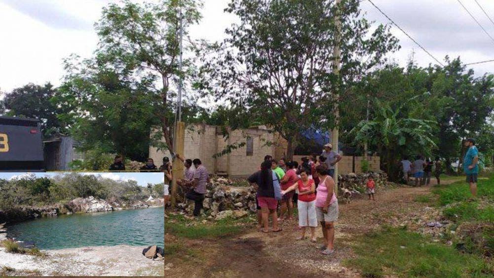Se ahoga en aguada de Mérida por meterse en estado de ebriedad